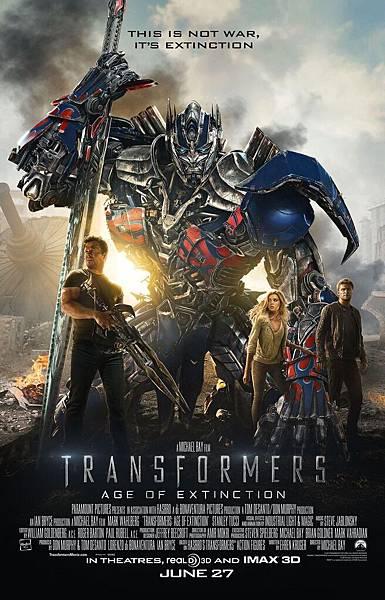 Transformers 4:Age of the Extinction,變形金剛4:絕跡重生,2014