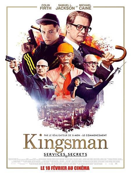 Kingsman:The Secret Service,金牌特務,2014.jpg