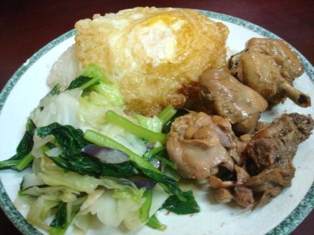 雲式黃悶雞飯,80元