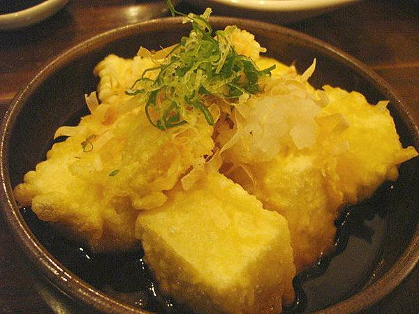 日式炸豆腐100圓