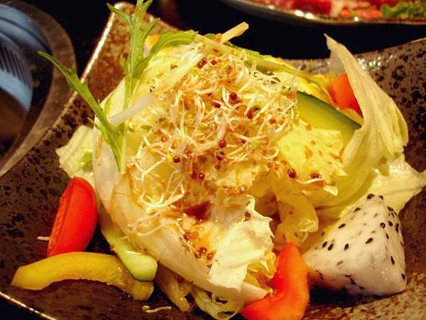 蔬食的第二個選擇,和風沙拉