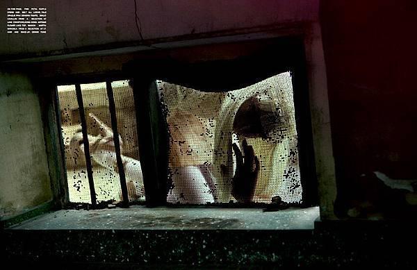 這其實是ANTM第一季,Elyse拍的照片