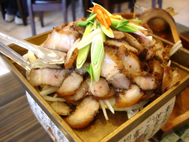 陶板山豬肉小的250元