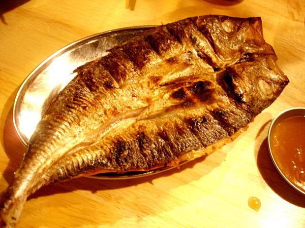 竹筴魚一夜干,110元