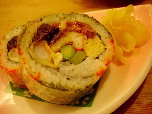600元套餐裡的食事:盛壽司