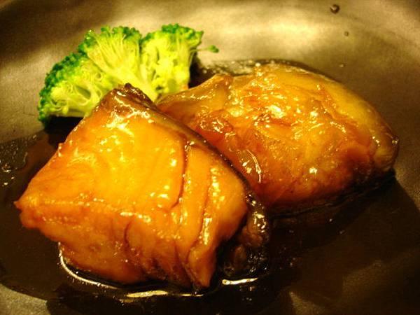 600元套餐裡頭的燒物(燒烤菜餚),鮎魚姿燒