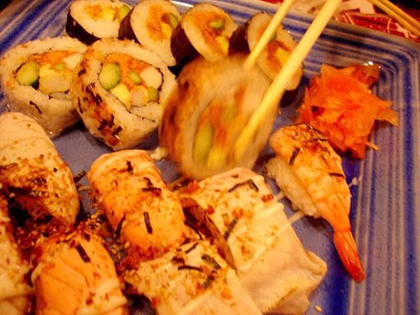 板前炙燒壽司