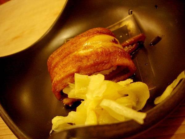 1500元套餐裡的食事:穴子魚