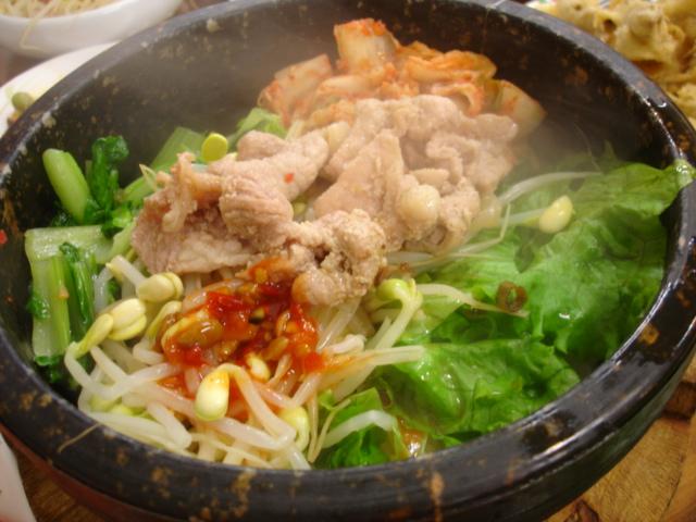 韓國石鍋拌飯90元