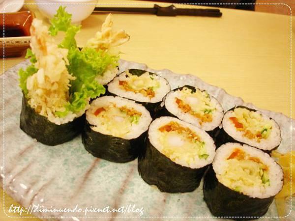炸蝦壽司90元