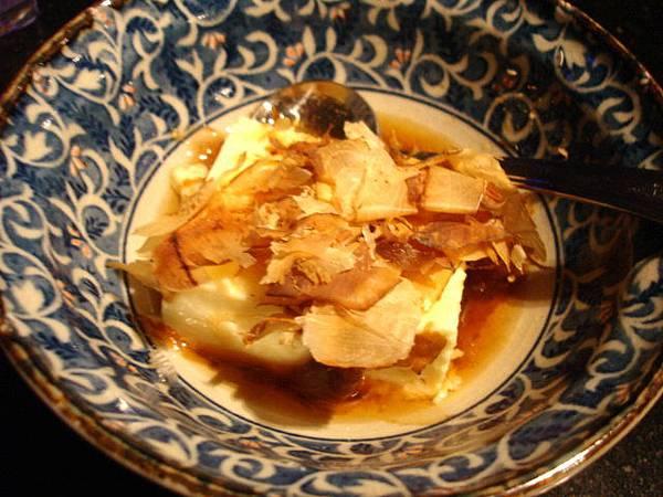 這個是小缽兩份其中的冷豆腐,上次覺得好吃這次續點
