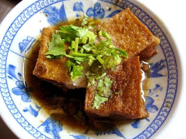 油豆腐一份三塊10元