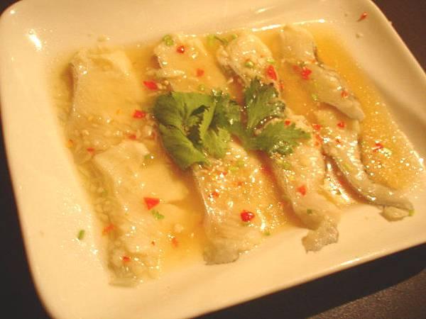 泰式檸檬鱈魚180元