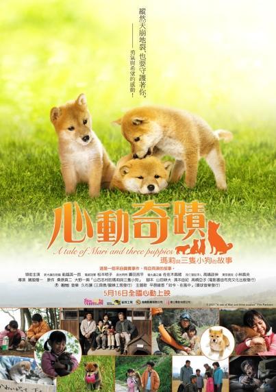 A Tale of Mari and Three Puppies,心動奇蹟:瑪莉與3隻小狗的故事,2008