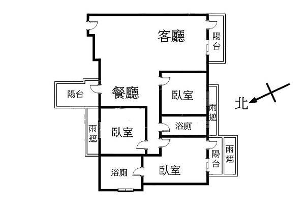 8心8建朝南3房4樓_170323_0001