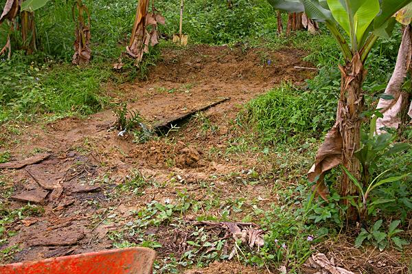 景觀池挖掘001