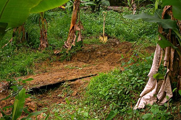 景觀池挖掘002