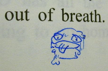 圖解out of breath