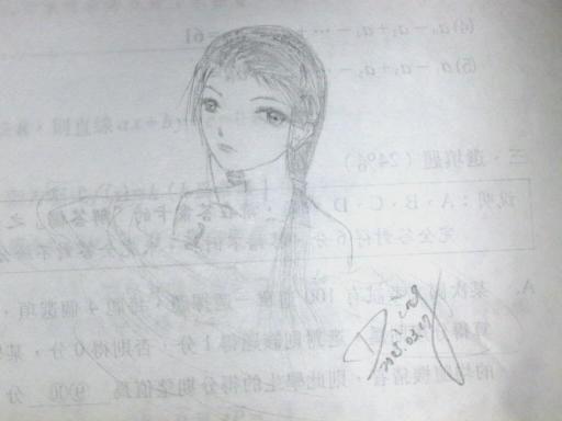 水中女生-2