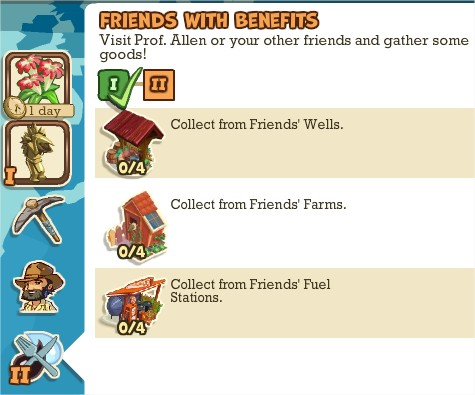 Adventure World, Friends With Benefits I