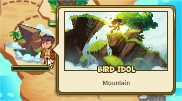 Adventure World, Bird Idol
