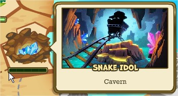 Adventure World, Snake Idol