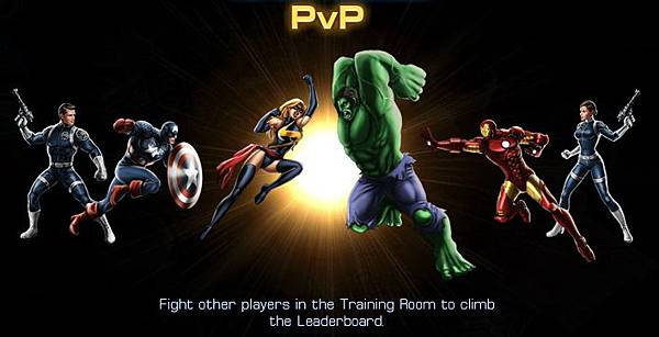 Marvel: Avengers Alliance, PVP