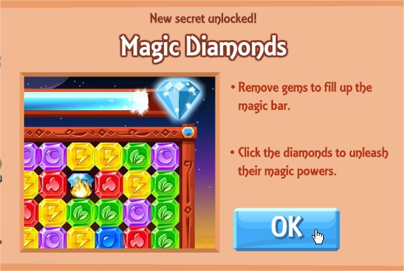 Diamond Dash, Facebook game