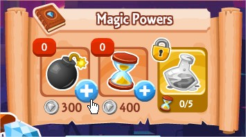 Magic Power, Diamond Dash