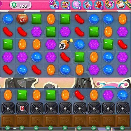 Candy Crush Saga, LV.100