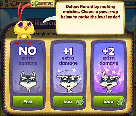 Farm Heroes Saga, Rancid