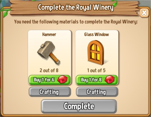 Royal Story, Royal Winery