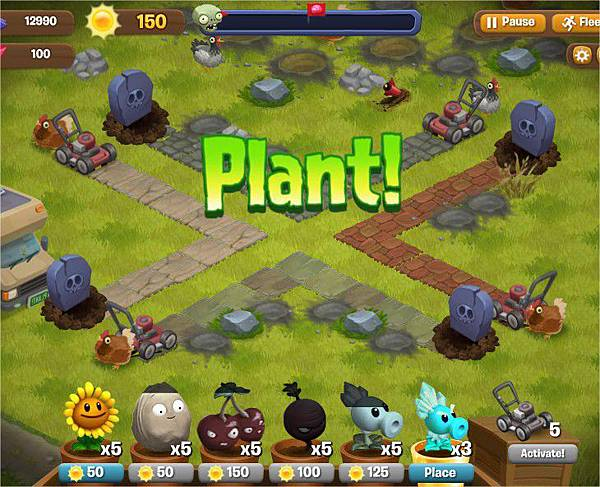 Plants vs. Zombies Adventures, Road Trip