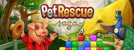 Pet Rescue Saga, Facebook games