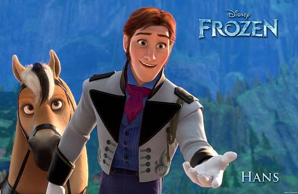電影, Frozen(冰雪奇緣), Hans