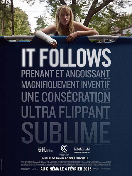 Movie, It Follows / 靈病 / 神秘追随, 電影海報