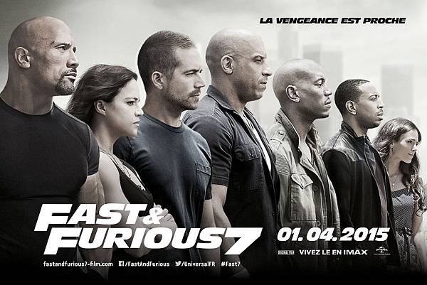 Movie, Furious 7 / 玩命關頭7 / 速度与激情7 / 狂野時速7, 電影海報
