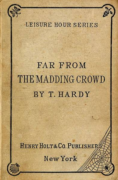 Novel, Far from the Madding Crowd / 遠離塵囂 (1874), 小說封面