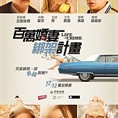 Movie, Life of Crime(美) / 百萬嬌妻綁架計畫(台) / 犯罪生活(網), 電影海報, 台灣