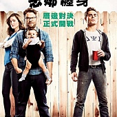 Movie, Neighbors(美) / 惡鄰纏身(台) / 賤鄰50(港) / 邻居大战(網), 電影海報, 台灣
