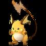 APP, Pokémon GO, 寶可夢圖片, #026 雷丘/Raichu