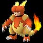 APP, Pokémon GO, 寶可夢圖片, #126鴨嘴火獸/Magmar