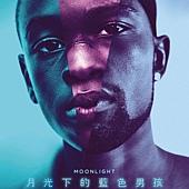 Movie, Moonlight(美國) / 月光下的藍色男孩(台) / 月亮喜歡藍(港) / 月光男孩(網), 電影海報, 台灣