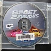 Movie, 2 Fast 2 Furious(美國.德國) / 玩命關頭2:飆風再起(台) / 狂野極速(港) / 速度与激情2(網), DVD