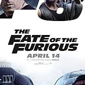Movie, The Fate of the Furious(美國) / 玩命關頭8(台) / 速度与激情8(中) / 狂野時速8(港), 電影海報, 美國