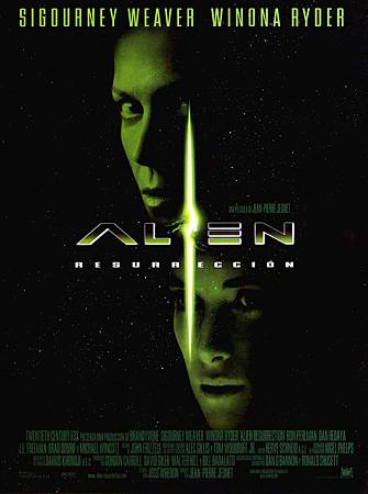 Movie, Alien: Resurrection(美國) / 異形4:浴火重生(台), 電影海報, 美國