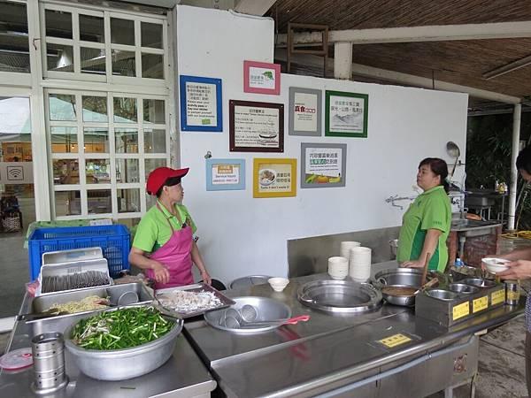 頭城農場, 農場環境, 餐廳