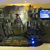 Movie, Pirates of the Caribbean: Dead Men Tell No Tales(美國) / 加勒比海盜 神鬼奇航:死無對證(台) / 加勒比海盗5:死无对证(中) / 加勒比海盜:惡靈啟航(港), 廣告看板, 今日秀泰