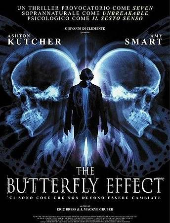 Movie, The Butterfly Effect(美國.加拿大) / 蝴蝶效應(台) / 連鎖蝶變(港), 電影海報, 美國