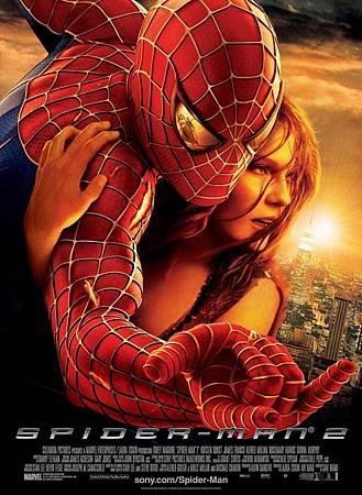 Movie, Spider-Man 2(美國) / 蜘蛛人2(台) / 蜘蛛侠2(中) / 蜘蛛俠2(港), 電影海報, 美國